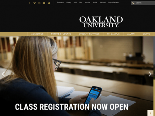 Oakland.edu Events and Calendar